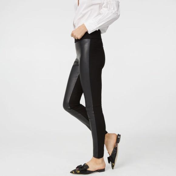 cb14b8859713c Club Monaco Pants - Club Monaco Tasha Faux Leather Leggings